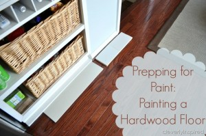 Painting a Prefinished Hardwood Floor: Part One