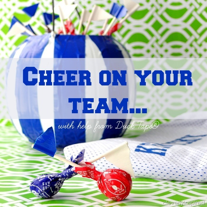 cheer on your team with Ducktape @cleverlyinspired (1)