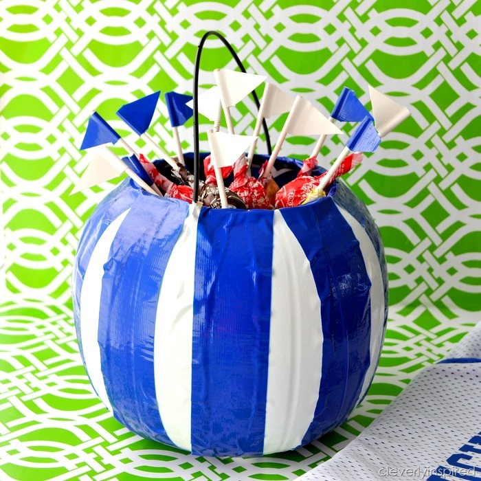 cheer on your team with Ducktape @cleverlyinspired (2)