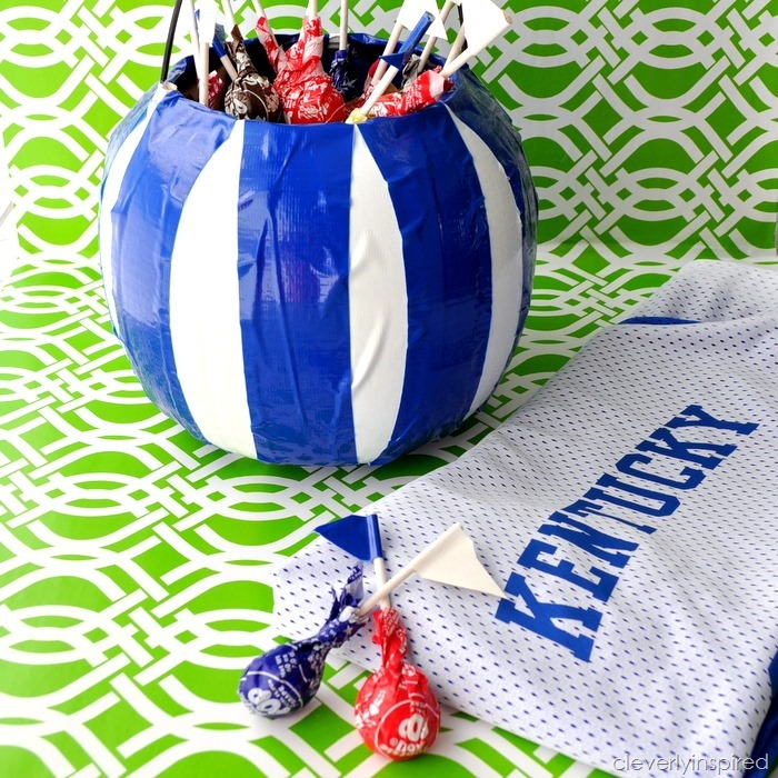 cheer on your team with Ducktape @cleverlyinspired (3)