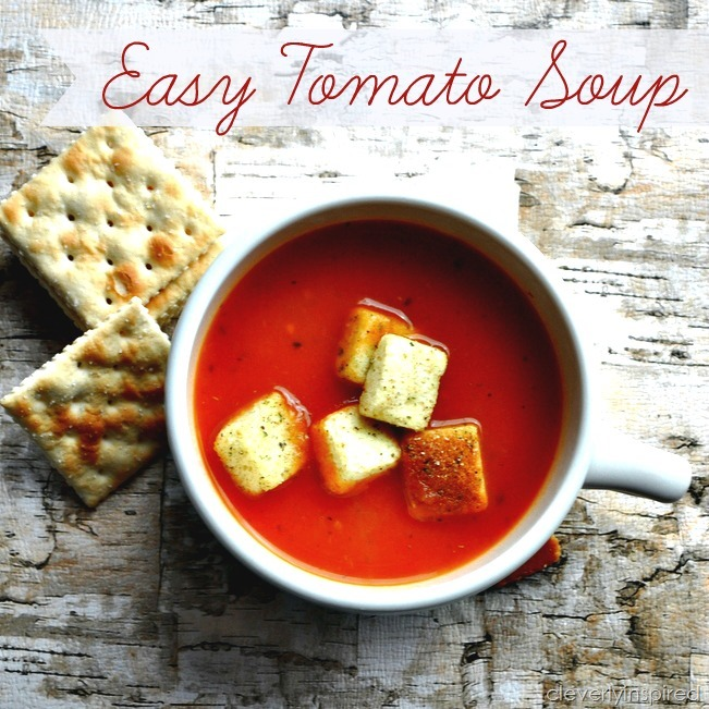 easy tomato soup recipe @cleverlyinspired (1)