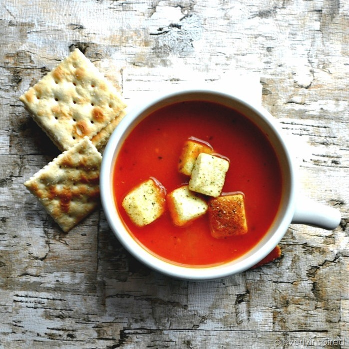 easy tomato soup recipe @cleverlyinspired (8)