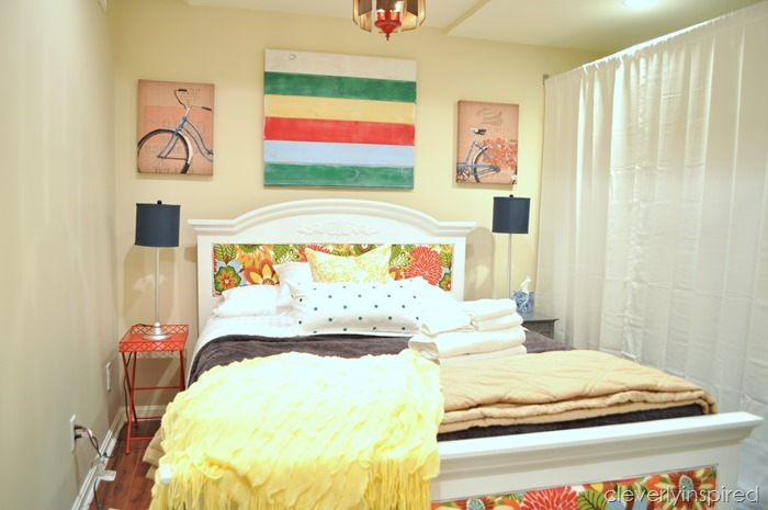 guest bedroom @cleverlyinspired