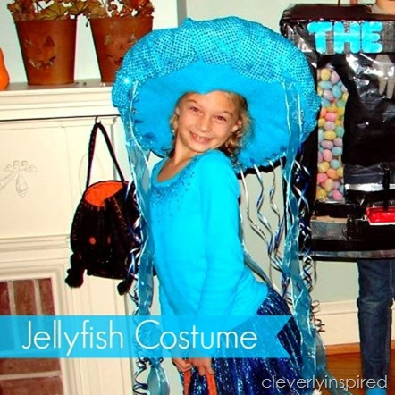 DIY Jellyfish Halloween Costume  sc 1 st  Cleverly Inspired & DIY Jellyfish Halloween Costume - Cleverly Inspired