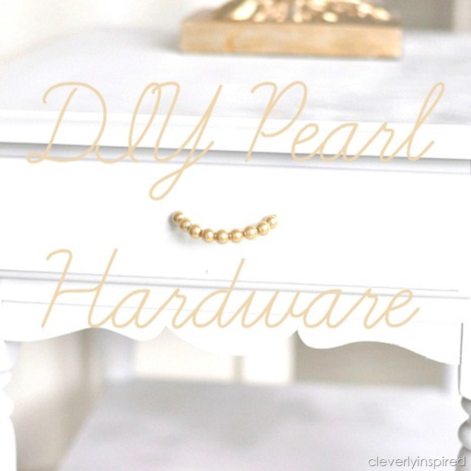 DIY pearl hardware @cleverlyinspired (1)