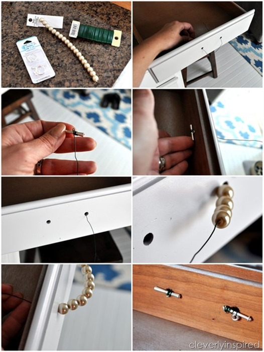DIY pearl hardware @cleverlyinspired (3)