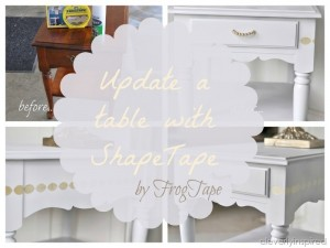 Easy end table update…
