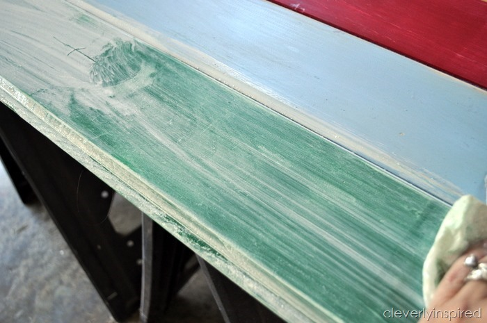 wood floor into wall art (diy art) @cleverlyinspired (2)