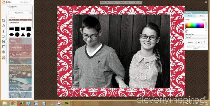 DIY christmas card @cleverlyinspired (5)