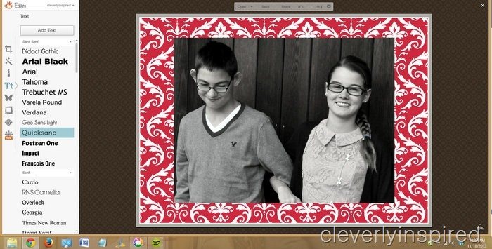 DIY christmas card @cleverlyinspired (6)