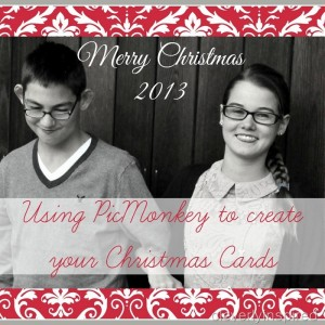 How to use picmonkey to create your christmas cards (diy christmas cards)