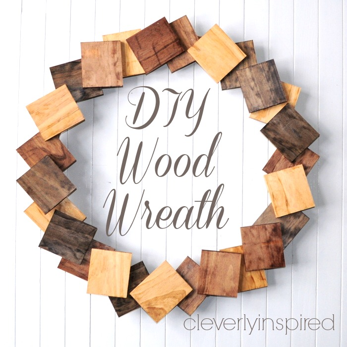 diy wood wreath @cleverlyinspired (5)cv