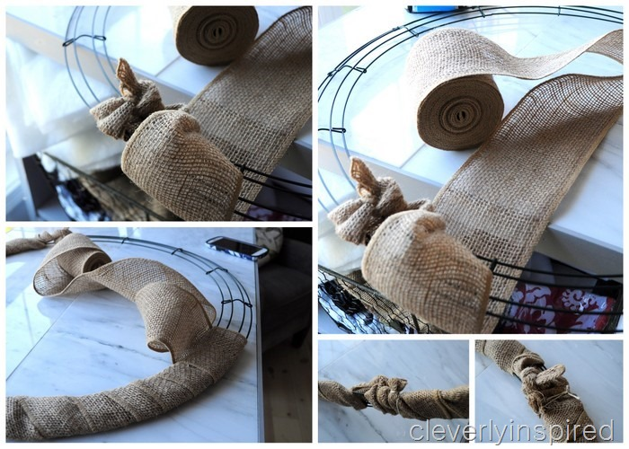 diy wood wreath @cleverlyinspired (4)