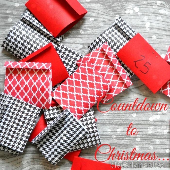 last minute advent calendar diy @cleverlyinspired (5)