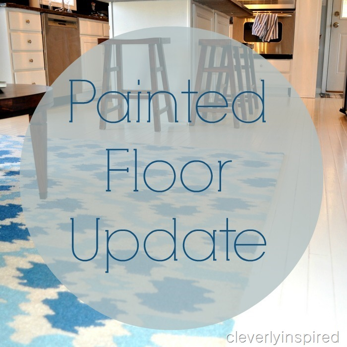 painted wood floor @cleverlyinspired (1)