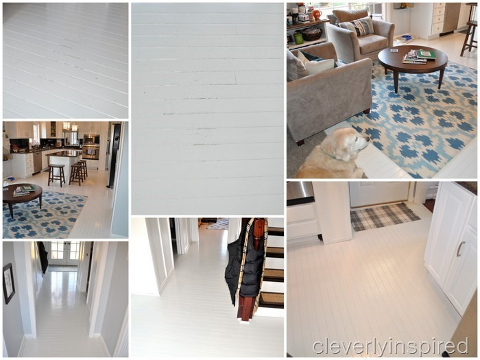 painted wood floor @cleverlyinspired (3)