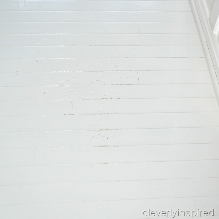painted wood floor @cleverlyinspired (6)
