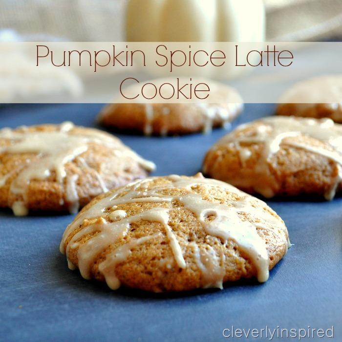 pumpkin spice latte cookie recipe @cleverlyinspired (1)