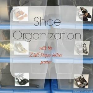 Shoe Organization (closet organizing)