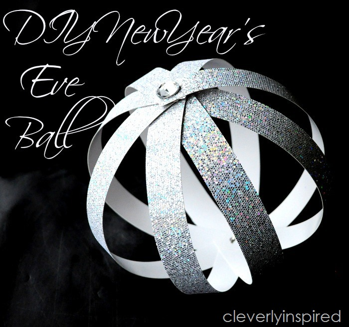 DIY New Year's Eve ball  (1)