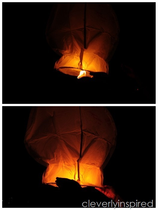 How to use a sky lantern @cleverlyinspired (4)