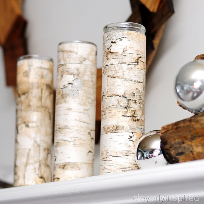 nature inspired Christmas mantle @cleverlyinspired (6)