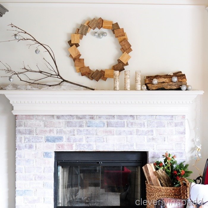nature inspired Christmas mantle @cleverlyinspired (9)