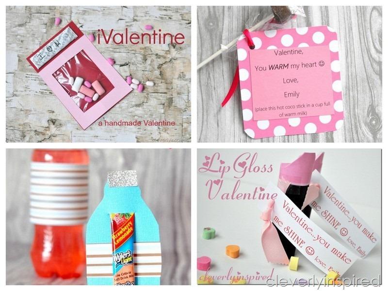 handmade valentine @cleverlyinspired