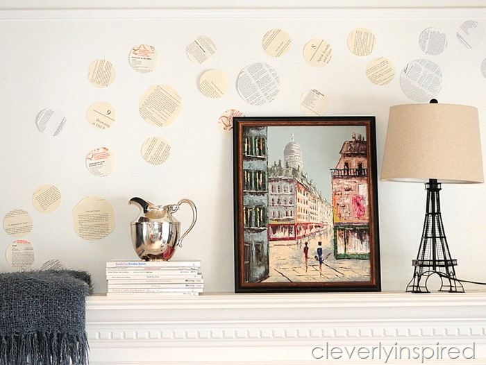 book page repurposed mantle @cleverlyinspired (10)