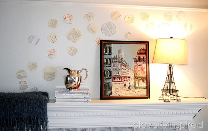 book page repurposed mantle @cleverlyinspired (4)