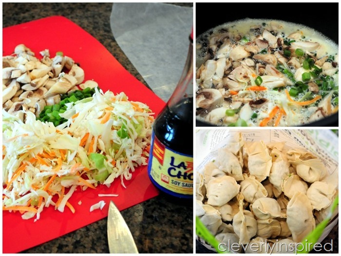 simple wonton soup recipe @cleverlyinspired (2)