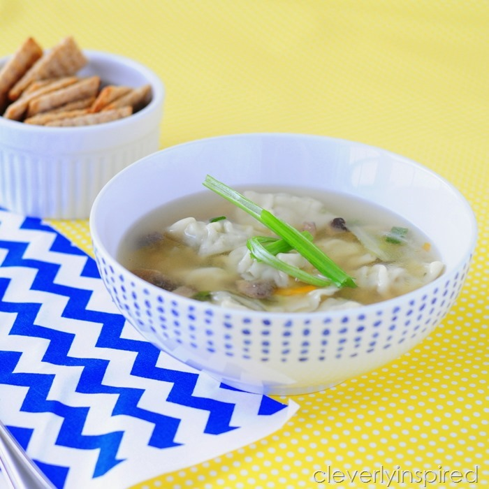 simple wonton soup recipe @cleverlyinspired (4)