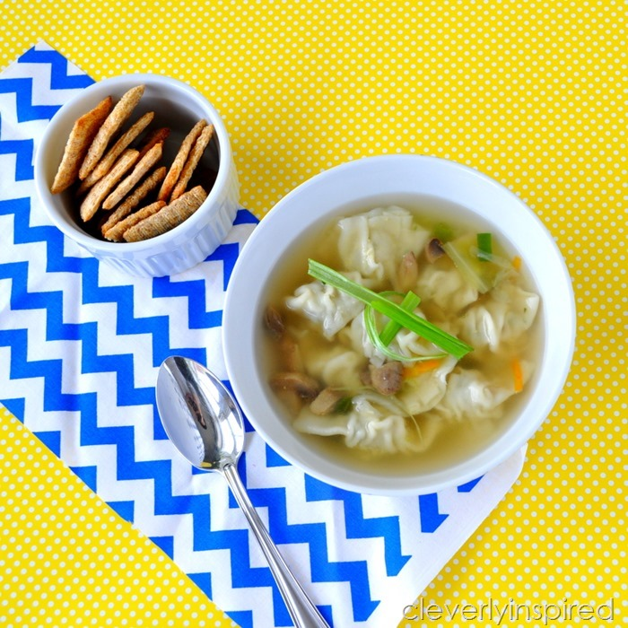 simple wonton soup recipe @cleverlyinspired (5)