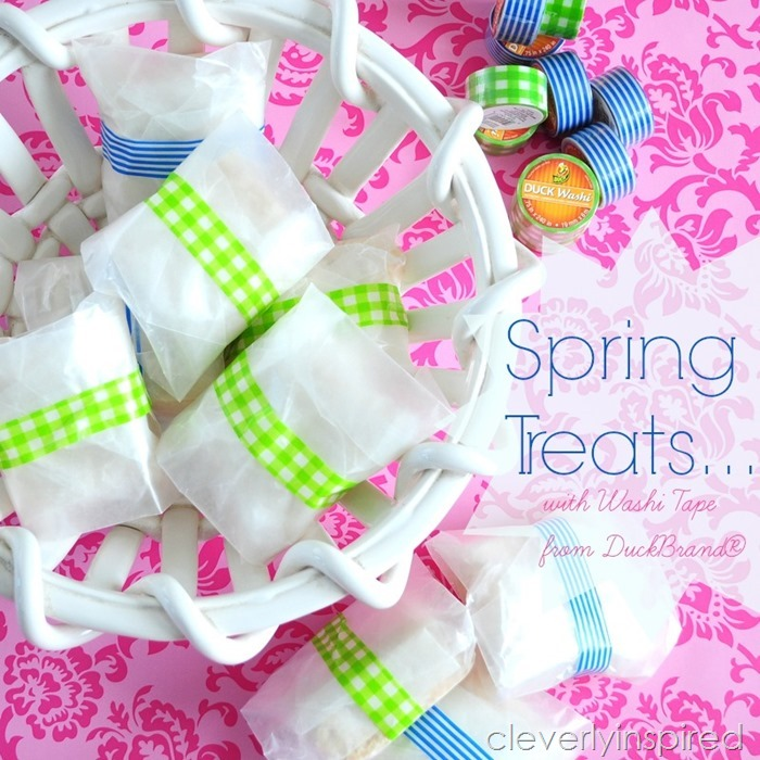 Spring Treats featuring washi tape from DuckBrand® @cleverlyinspired (4)