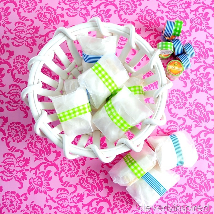 Spring Treats featuring washi tape from DuckBrand® @cleverlyinspired (5)