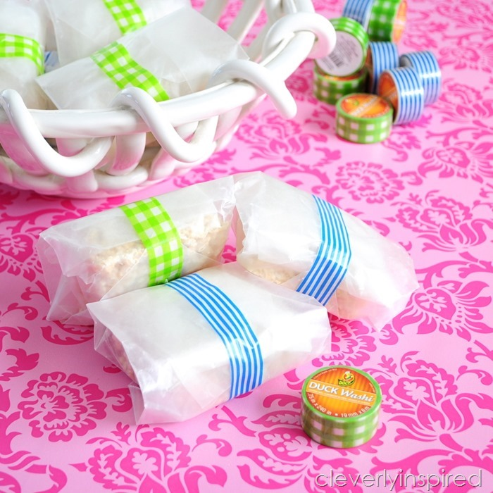 Spring Treats featuring washi tape from DuckBrand® @cleverlyinspired (7)