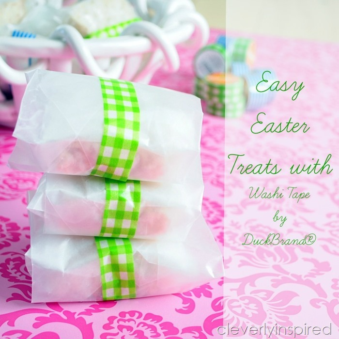 Spring Treats featuring washi tape from DuckBrand® @cleverlyinspired (8)cv