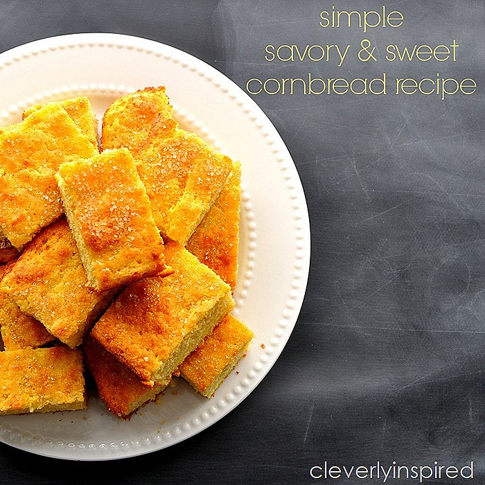 simple cornbread recipe @cleverlyinspired (1)