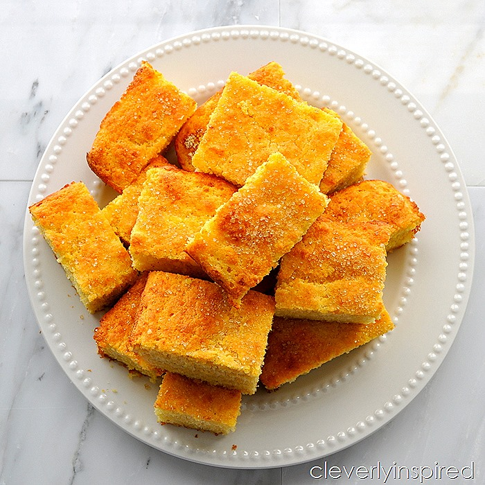 simple cornbread recipe @cleverlyinspired (2)