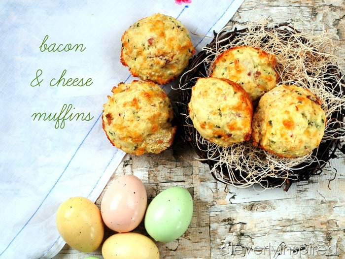 bacon and cheese muffins @cleverlyinspired (2)