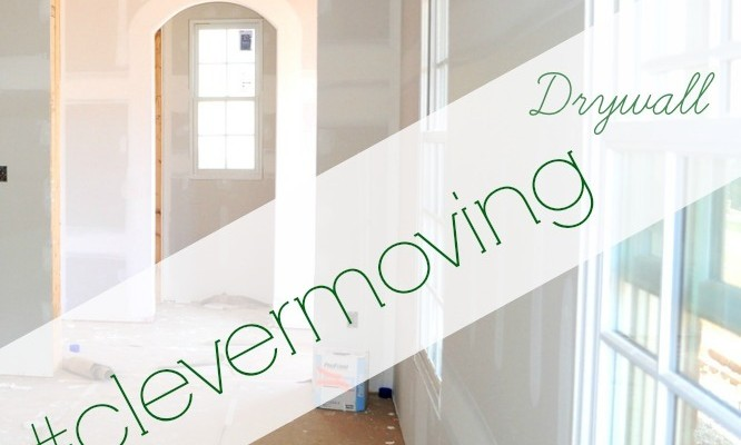 #clevermoving Monday: Drywall begins