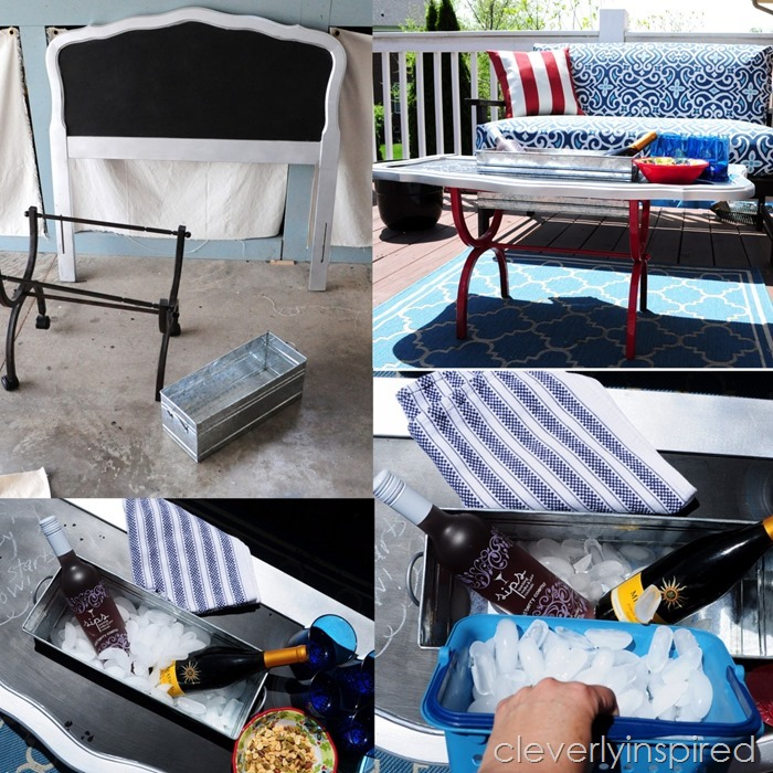 outdoor cooler cocktail table @cleverlyinspired (4)