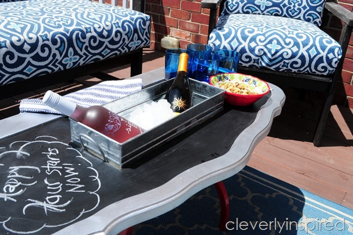outdoor cooler cocktail table @cleverlyinspired (8)