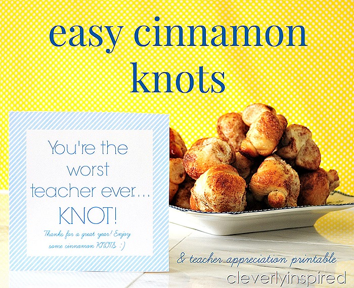 easy cinnamon knots recipe @cleverlyinspired (1)