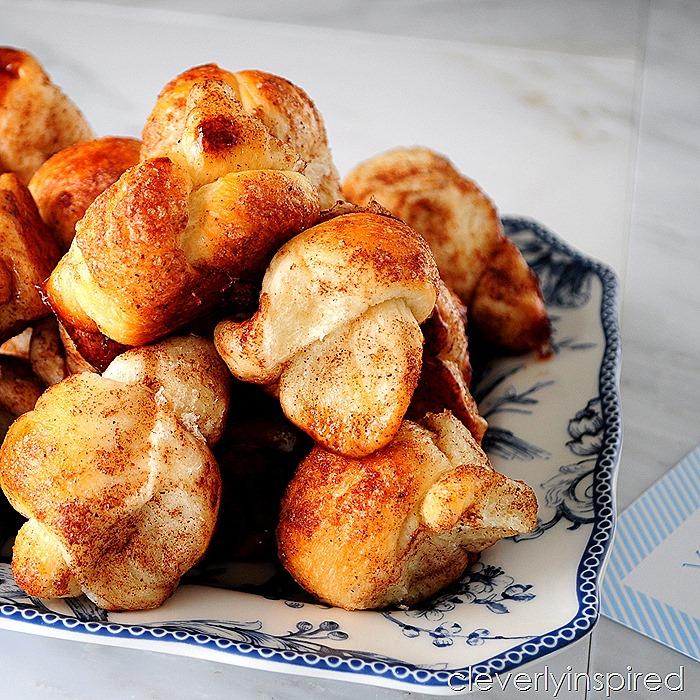 easy cinnamon knots recipe @cleverlyinspired (2)