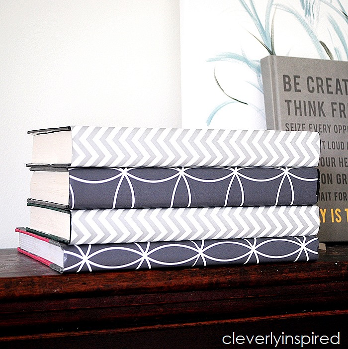 gift wrap book covers @cleverlyinspired (2)