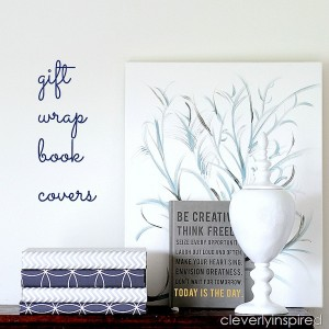 gift wrap book covers