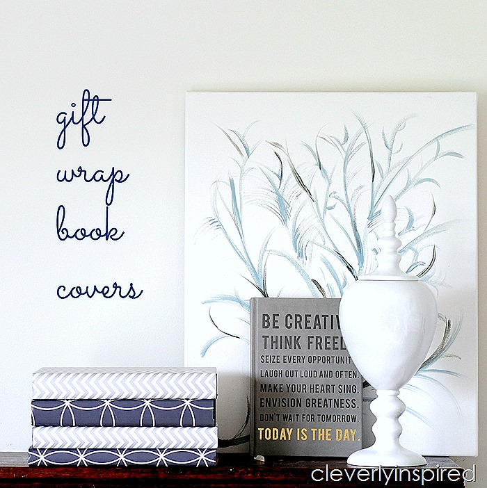 gift wrap book covers @cleverlyinspired (7)