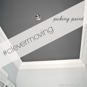 #clevermoving : Picking the paint