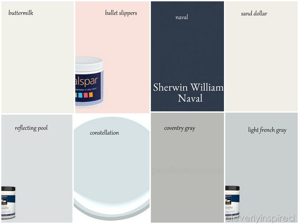 #clevermoving : Picking the paint - Cleverly Inspired